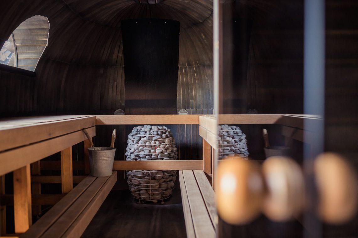 Sauna sin ropa