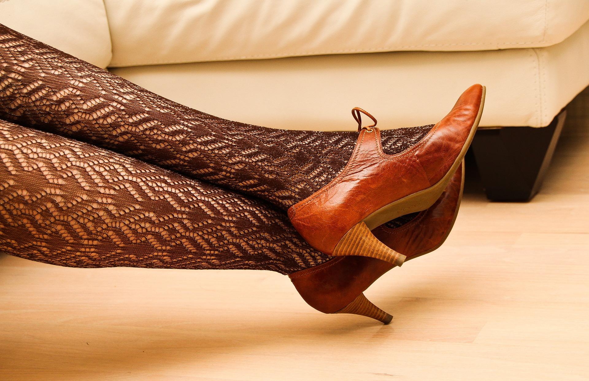 zapatos de 6 cm