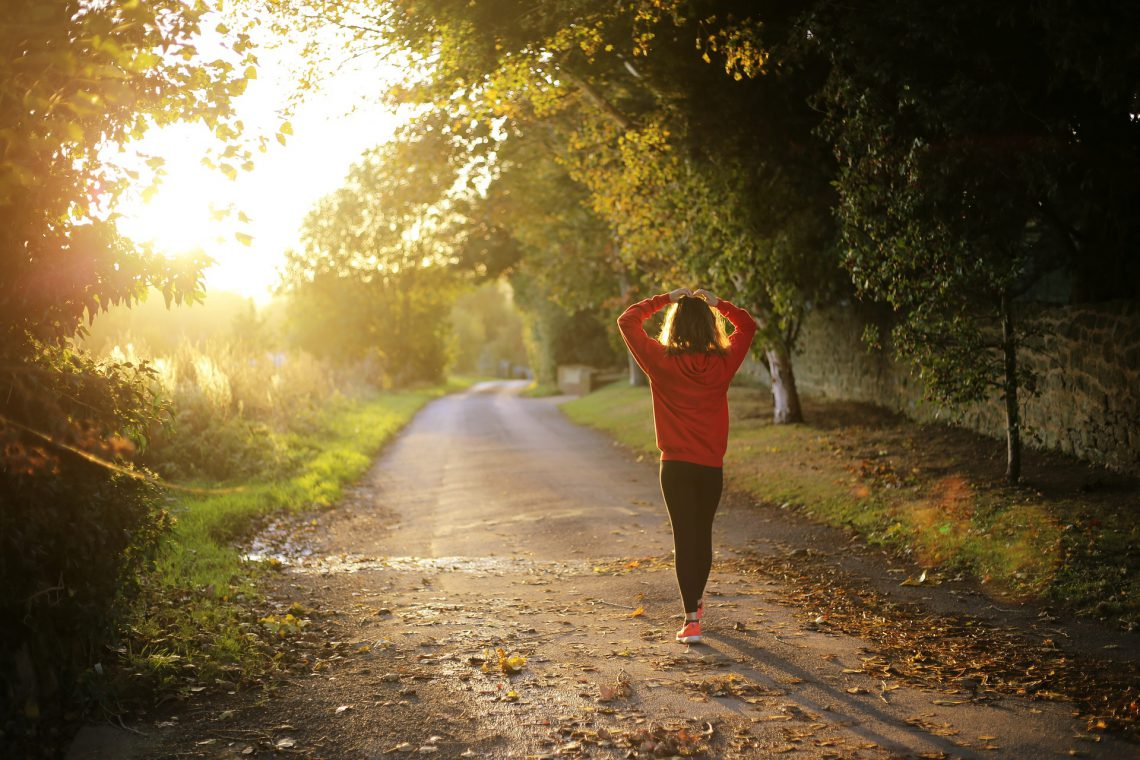 Caminar es bueno para la salud