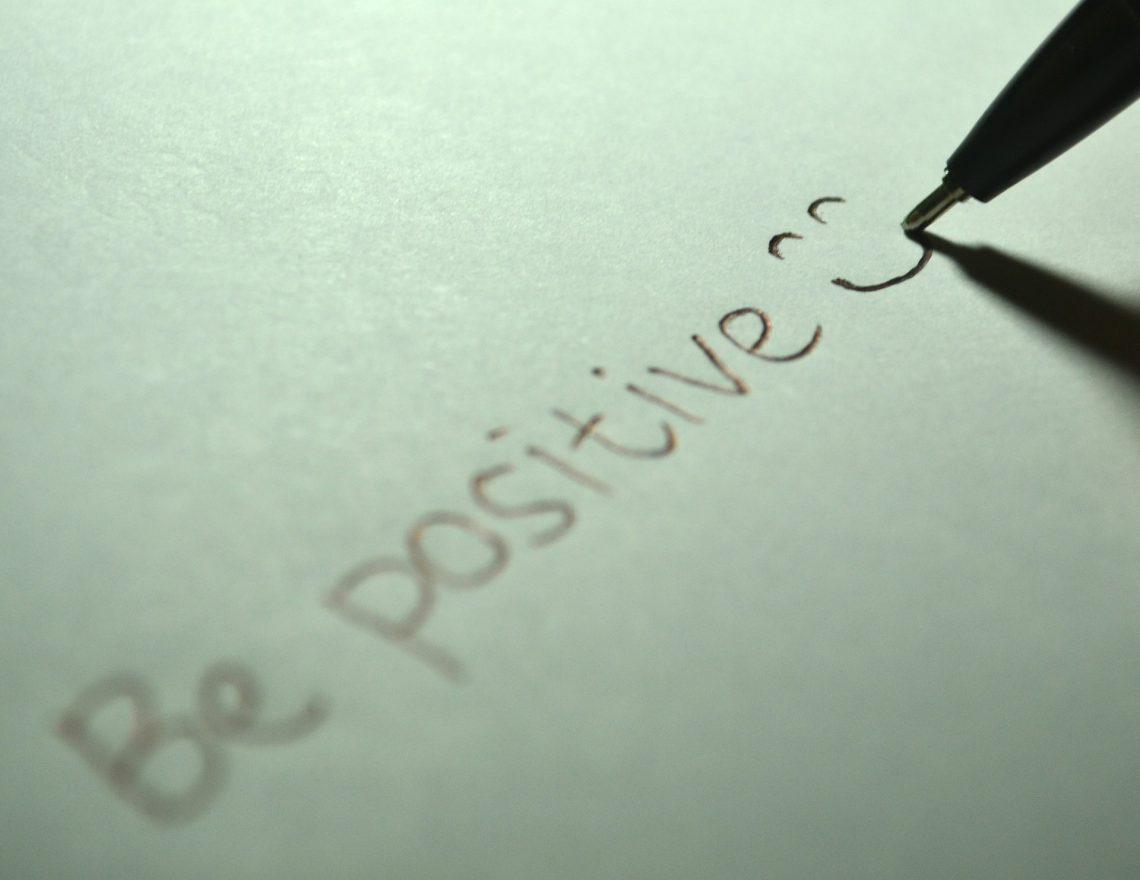 actitud fuerte y positiva