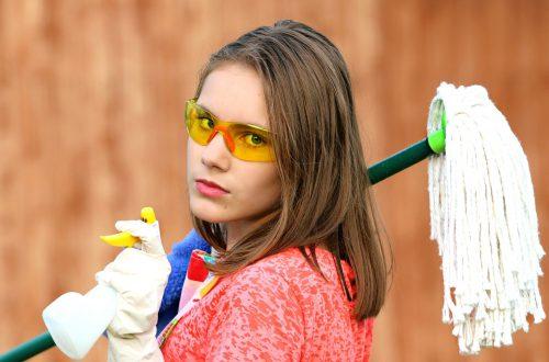 Errores al limpiar la casa