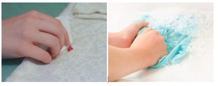 Quitar mancha de esmalte seca